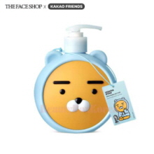 THE FACE SHOP KAKAO FRIENDS Hoodie Ryan Milk & Shea Butter Creamy Body Oil Lotion 500ml