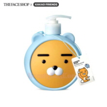 THE FACE SHOP KAKAO FRIENDS Hoodie Ryan Milk & Shea Butter Creamy Body Wash 500ml