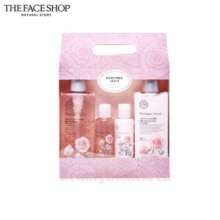 THE FACE SHOP Perfume Seed Velvet Special Body Set 4items,THE FACE SHOP,Beauty Box Korea