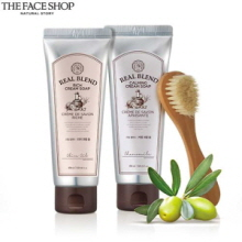THE FACE SHOP Real Blend Cream Soap 150ml, THE FACE SHOP