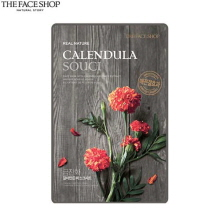 [mini] THE FACE SHOP Real Nature Calendula Face Mask 20g*10ea,Beauty Box Korea
