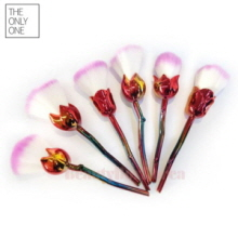 THE ONLY ONE Aura Rose Flower Brush 6items