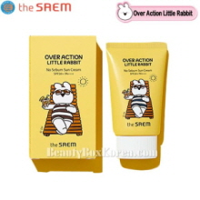 THE SAEM Eco Earth Power No Sebum Sun Cream 50g [Over Action Little Rabbit Edition]