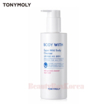 TONYMOLY Body With Super Mild Body Cleanser 300ml,TONYMOLY