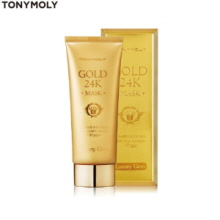 TONYMOLY Luxury Gem Gold 24K Mask 100ml, TONYMOLY