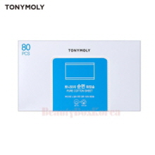 TONYMOLY Pure Cotton Sheet 80ea