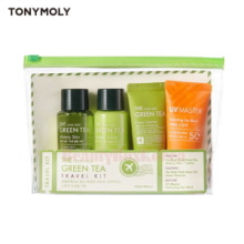 TONYMOLY The Chok Chok Green Tea Travel Kit 4items