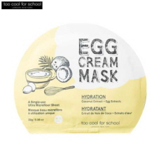 TOO COOL FOR SCHOOL Egg Cream Mask 28g, TOO COOL FOR SCHOOL