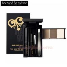 TOO COOL FOR SCHOOL Glamrock Brow Box 1.2g*3 + 2.2ml + 0.45g