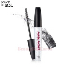 TOUCH IN SOL Paper Pusher Stretch Fiber Lengthening Mascara 7g,TOUCH IN SOL