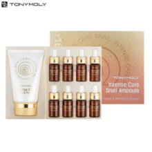 TONYMOLY Intense Care Snail Ampoule Set 2items, TONYMOLY