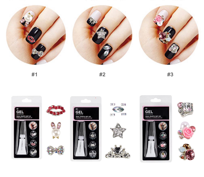 Beauty Box Korea - THE FACE SHOP Gel Shock Nail parts set   Best ...