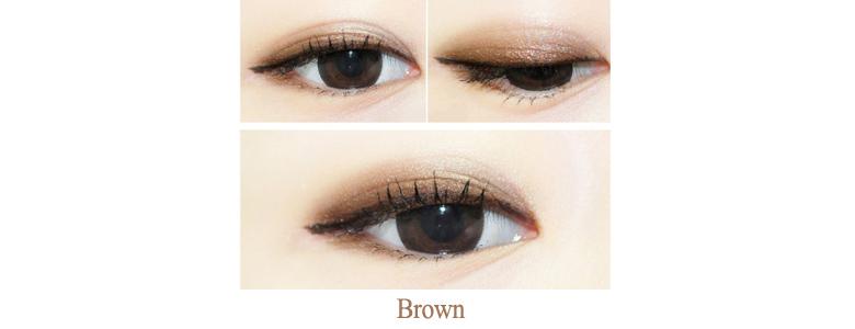 8c94da2ffcb KISS ME Heroine Make smooth liquid eyeliner Brown MIK Source · eyes an  impressive highlight black eyes in a rich color Brush Tip can easily draw a