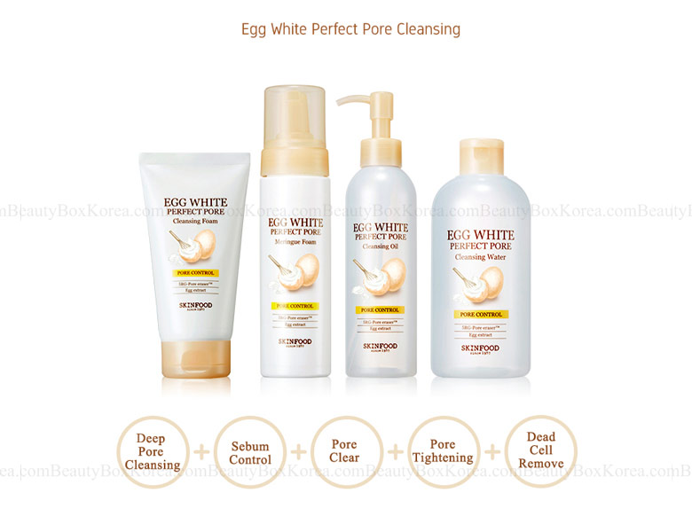 Egg White Perfect Pore Cleansing Foam by Skinfood #17