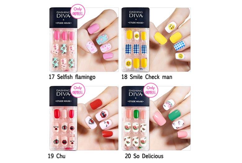 Beauty Box Korea - ETUDE HOUSE X Dashing Diva Magic Press 30tips + ...