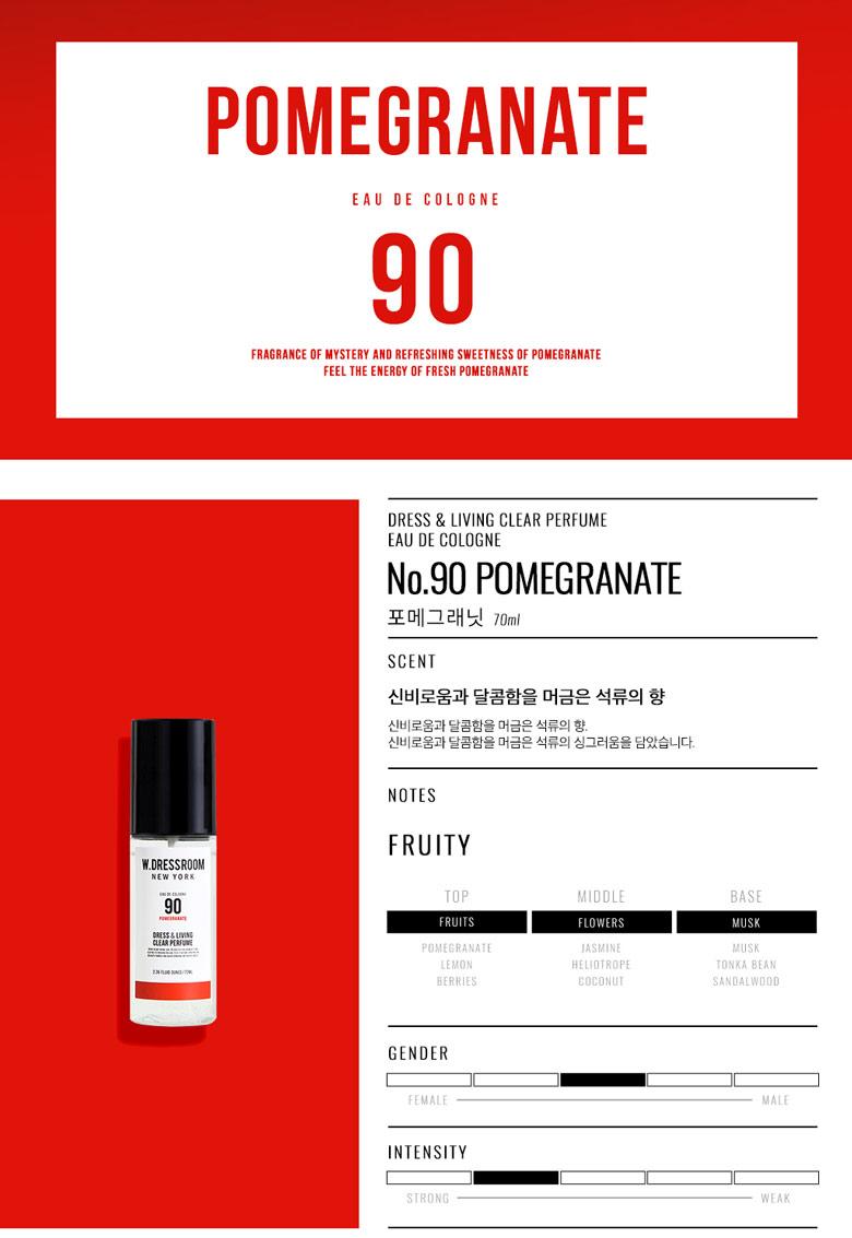 W.DRESSROOM Dress & Living Clear Perfume 70ml