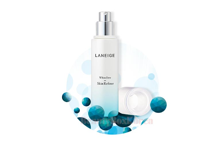 Gently whitens skin with plant-derived extract