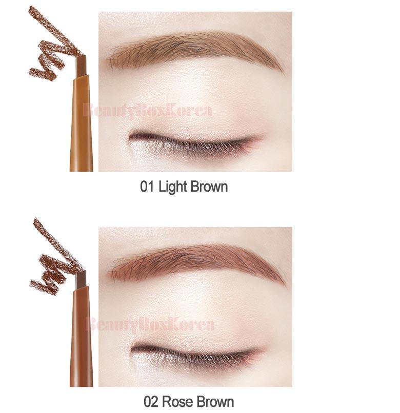 Beauty Box Korea The Face Shop Designing Matte Brow 018g Best